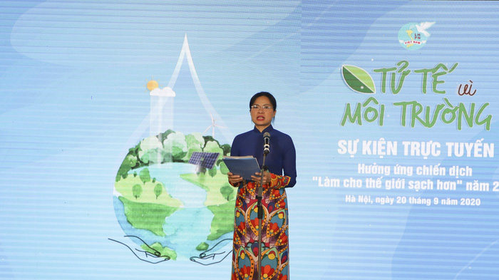 """Hội LHPN Việt Nam phát động """"Tử tế vì môi trường"""" hưởng ứng Chiến dịch Làm cho thế giới sạch hơn năm 2020 - Ảnh 1."""