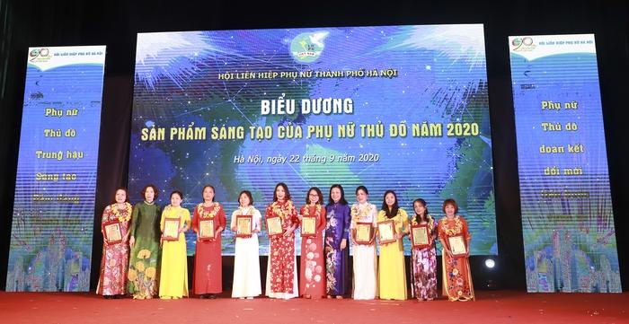 Vinh danh 10 sản phẩm sáng tạo của phụ nữ thủ đô 2020  - Ảnh 2.