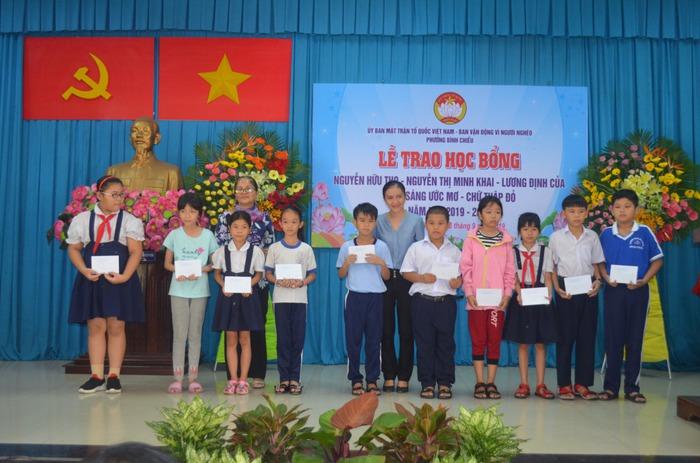 Hơn 1.200 học sinh từng nhận học bổng Nguyễn Thị Minh Khai trở thành doanh nhân - Ảnh 1.