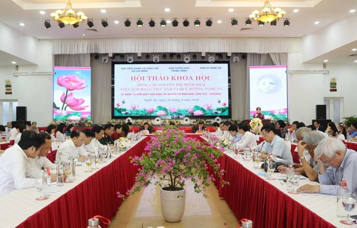 Đồng chí Nguyễn Thị Minh Khai với Cách mạng Việt Nam và quê hương Nghệ An - Ảnh 3.