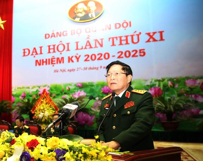 Khai mạc Đại hội Đảng bộ Quân đội lần thứ XI - Ảnh 2.