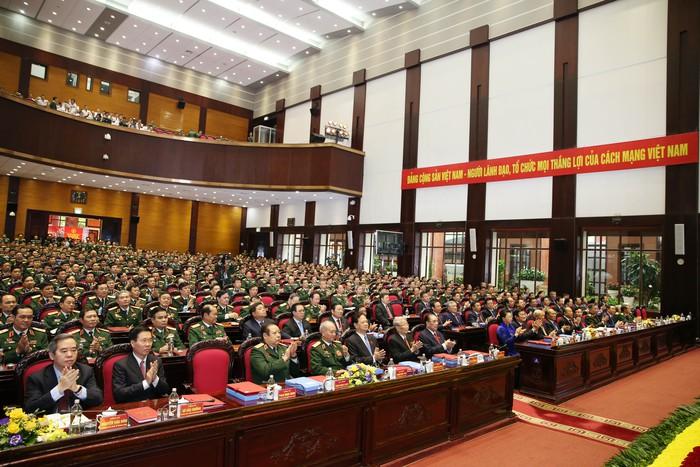Khai mạc Đại hội Đảng bộ Quân đội lần thứ XI - Ảnh 1.