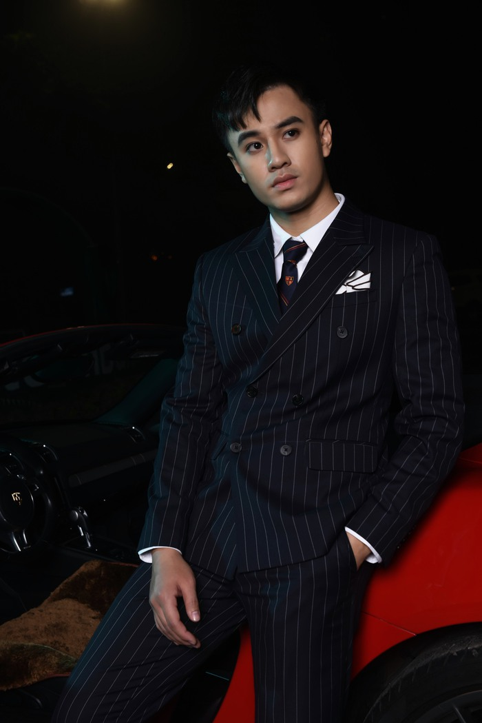 Diễn viên Quang Trọng từng bỏ học để theo nghiệp diễn - Ảnh 3.
