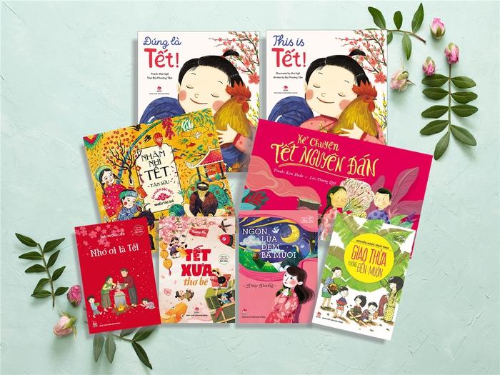 Bộ sách Tết được NXB Kim Đồng tái bản