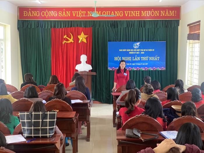 Hội LHPN Vĩnh Phúc tổ chức thành công đại hội điểm phụ nữ cơ sở  - Ảnh 1.