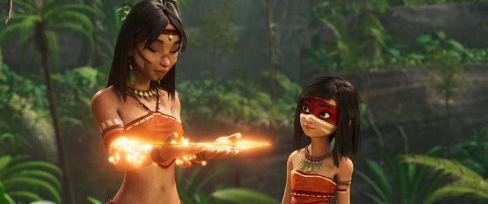 """""""Nữ thần chiến binh Amazon"""": Phim hoạt hình mở đầu năm mới 2021  - Ảnh 2."""