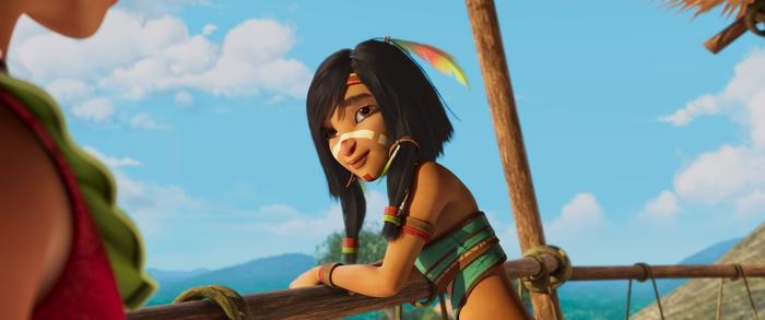 """""""Nữ thần chiến binh Amazon"""": Phim hoạt hình mở đầu năm mới 2021  - Ảnh 1."""