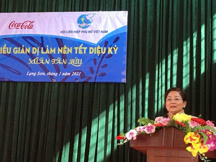 Phó Chủ tịch Hội Liên hiệp Phụ nữ Việt Nam Trần Thị Hương