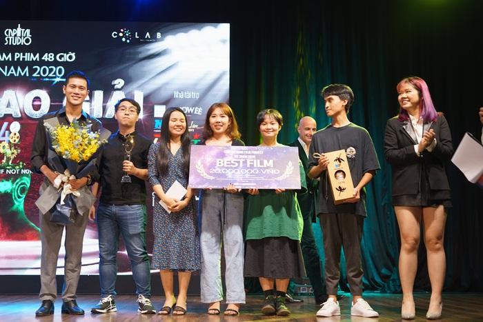 """""""Lư Đồng"""" thắng đậm tại cuộc thi làm phim 48 giờ Việt Nam 2020 - Ảnh 1."""