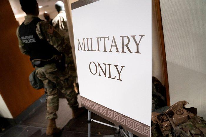 Hoa Kỳ: Thủ đô Washington thắt chặt an ninh chuẩn bị cho Lễ nhậm chức của ông Biden - Ảnh 14.