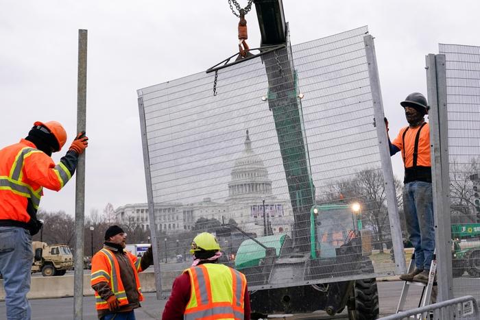 Hoa Kỳ: Thủ đô Washington thắt chặt an ninh chuẩn bị cho Lễ nhậm chức của ông Biden - Ảnh 6.