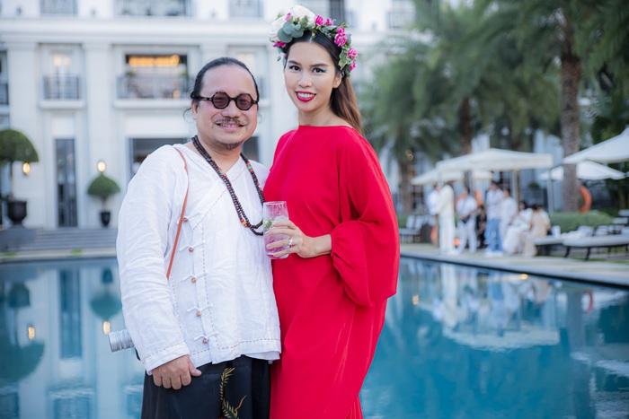 Siêu mẫu Hà Anh và nghệ sĩ Trần Mạnh Tuấn