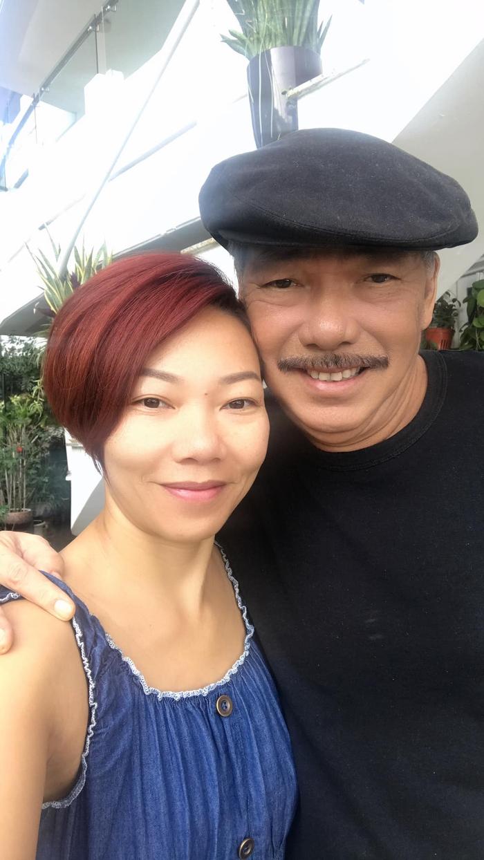Nhạc sĩ Trần Tiến và cháu gái, ca sĩ Hà Trần