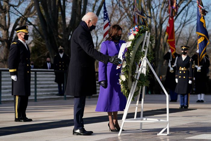 Những hình ảnh ấn tượng trong Lễ nhậm chức của tân Tổng thống Hoa Kỳ Joe Biden - Ảnh 11.