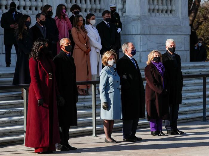 Những hình ảnh ấn tượng trong Lễ nhậm chức của tân Tổng thống Hoa Kỳ Joe Biden - Ảnh 13.