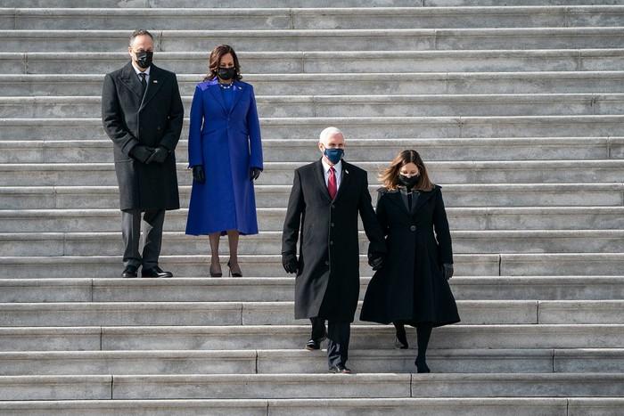 Những hình ảnh ấn tượng trong Lễ nhậm chức của tân Tổng thống Hoa Kỳ Joe Biden - Ảnh 16.