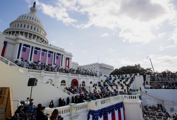 Những hình ảnh ấn tượng trong Lễ nhậm chức của tân Tổng thống Hoa Kỳ Joe Biden - Ảnh 17.