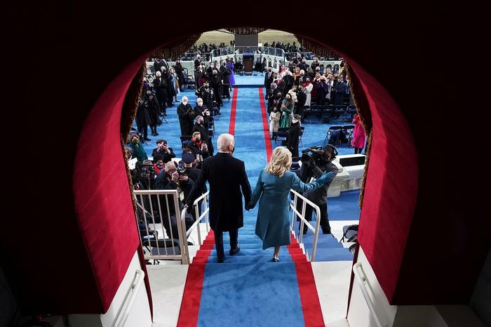 Những hình ảnh ấn tượng trong Lễ nhậm chức của tân Tổng thống Hoa Kỳ Joe Biden - Ảnh 19.