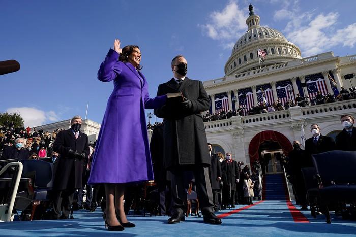 Những hình ảnh ấn tượng trong Lễ nhậm chức của tân Tổng thống Hoa Kỳ Joe Biden - Ảnh 20.