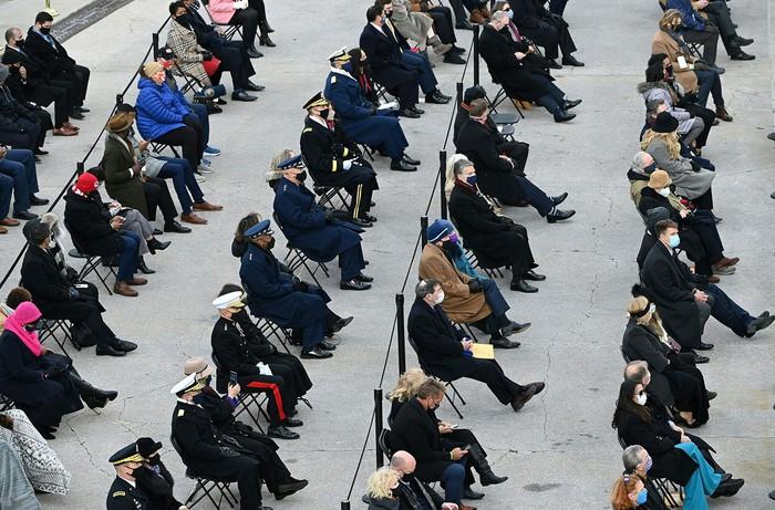 Những hình ảnh ấn tượng trong Lễ nhậm chức của tân Tổng thống Hoa Kỳ Joe Biden - Ảnh 21.