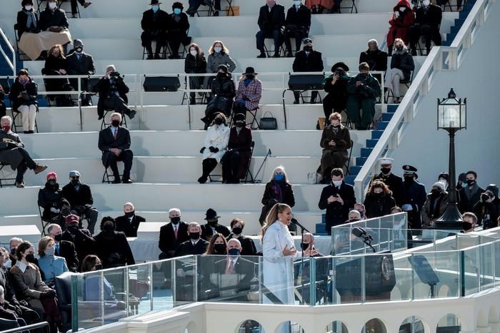 Những hình ảnh ấn tượng trong Lễ nhậm chức của tân Tổng thống Hoa Kỳ Joe Biden - Ảnh 26.
