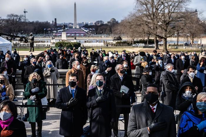 Những hình ảnh ấn tượng trong Lễ nhậm chức của tân Tổng thống Hoa Kỳ Joe Biden - Ảnh 28.