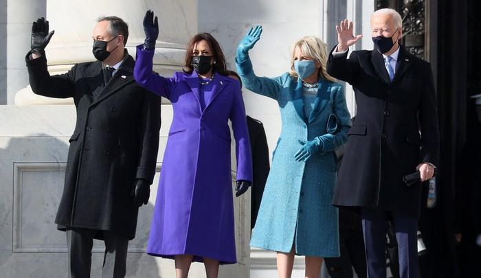 Những hình ảnh ấn tượng trong Lễ nhậm chức của tân Tổng thống Hoa Kỳ Joe Biden - Ảnh 29.