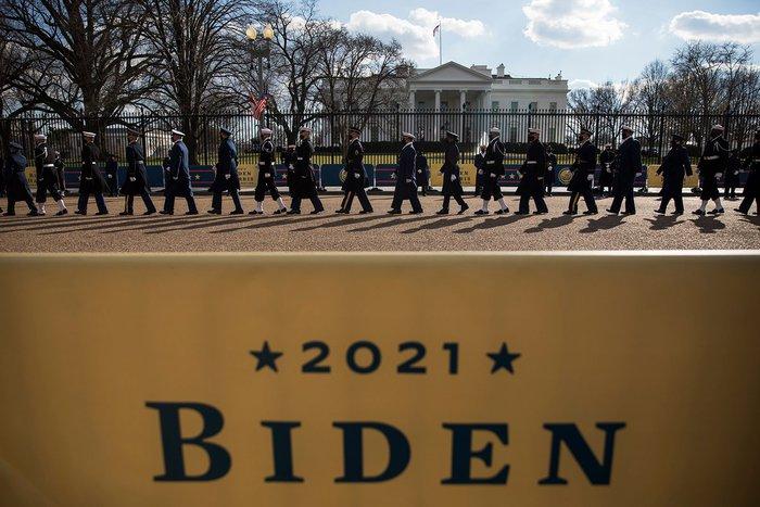 Những hình ảnh ấn tượng trong Lễ nhậm chức của tân Tổng thống Hoa Kỳ Joe Biden - Ảnh 4.