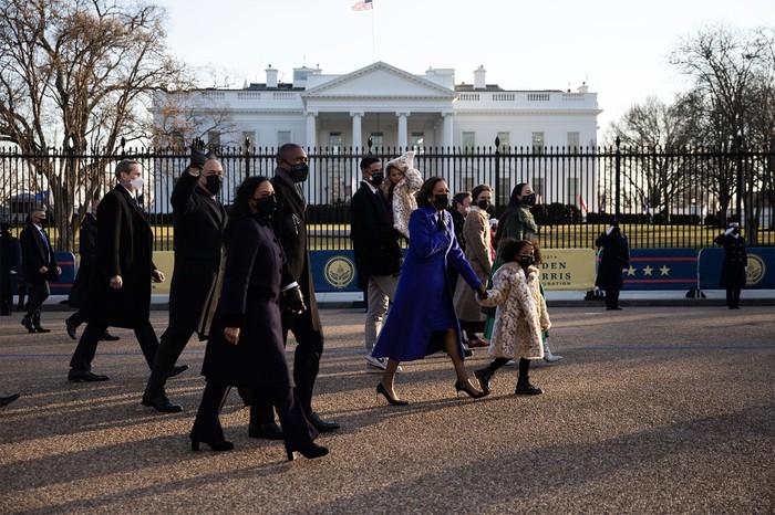 Những hình ảnh ấn tượng trong Lễ nhậm chức của tân Tổng thống Hoa Kỳ Joe Biden - Ảnh 6.