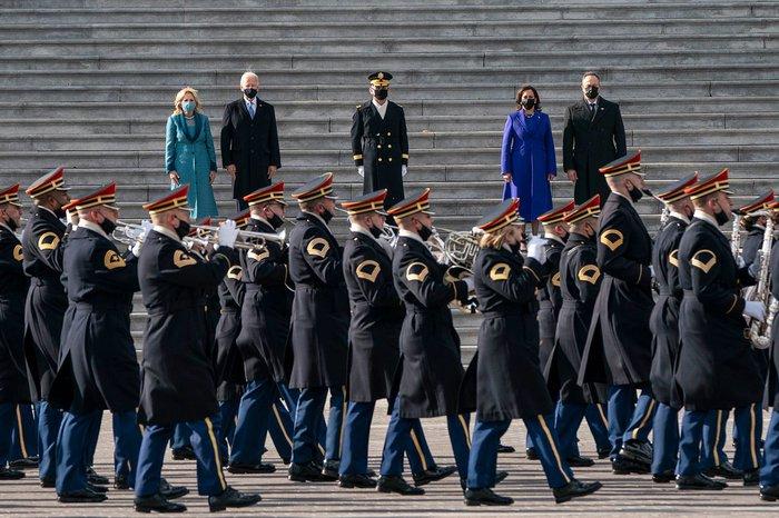Những hình ảnh ấn tượng trong Lễ nhậm chức của tân Tổng thống Hoa Kỳ Joe Biden - Ảnh 10.