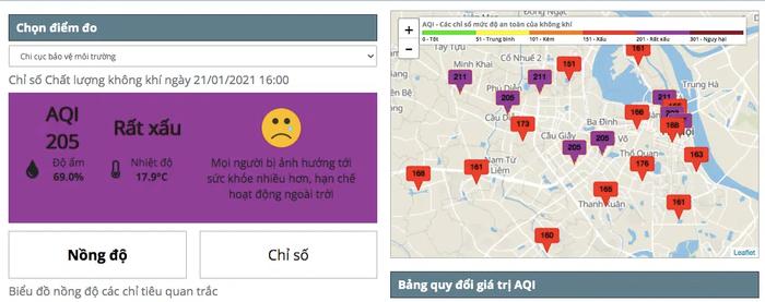 Thời tiết Hà Nội rất xấu, khuyến cáo người dân hạn chế ra ngoài - Ảnh 1.