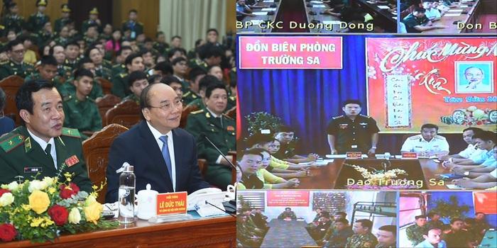 Thủ tướng thăm, chúc Tết bộ đội biên phòng - Ảnh 2.