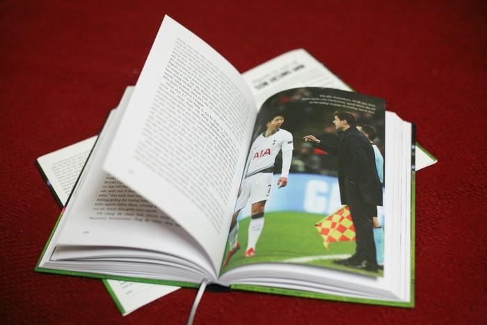 Hình ảnh minh họa trong cuốn Hồi ký bóng đá của Son Heung Min