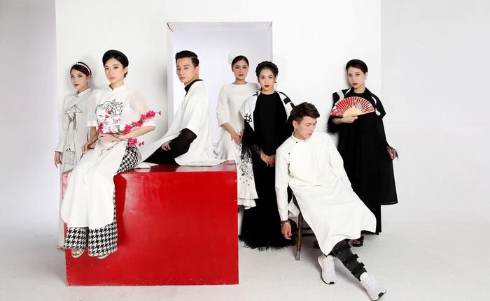 Cao Minh Tiến thiết kế áo dài lấy cảm hứng từ Dân ca Quan họ  - Ảnh 6.