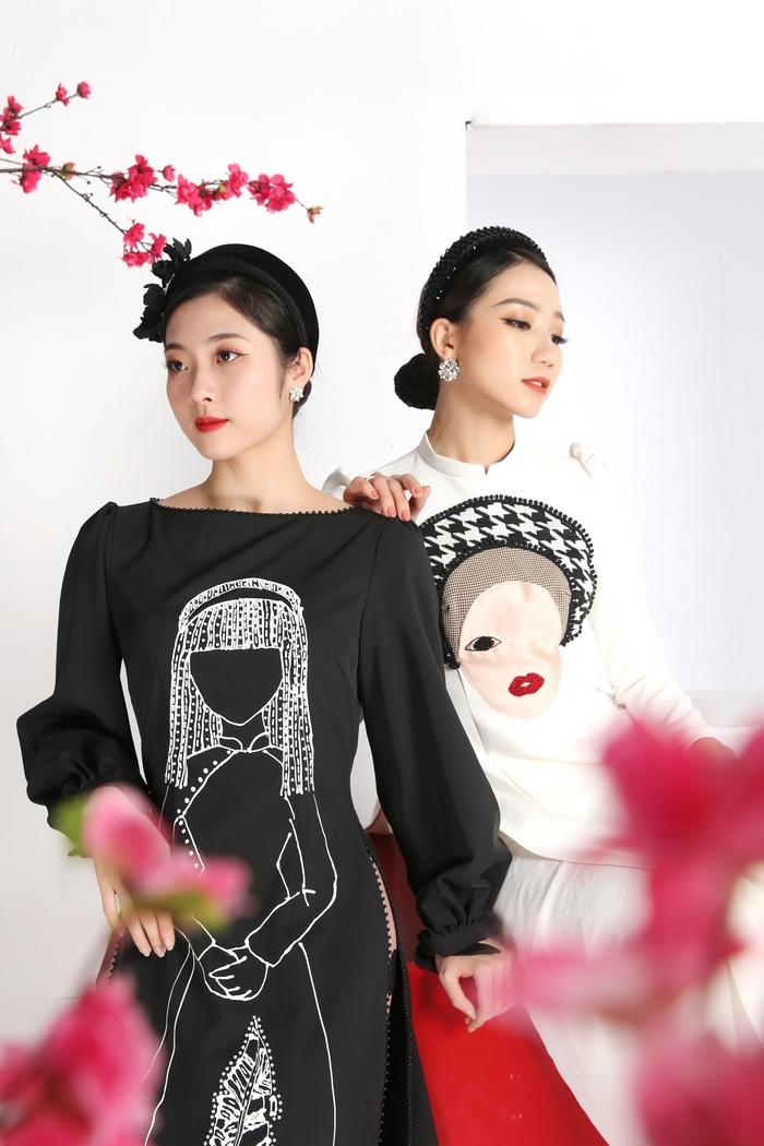 Cao Minh Tiến thiết kế áo dài lấy cảm hứng từ Dân ca Quan họ  - Ảnh 1.