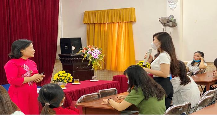 Hội LHPN TP Hải Phòng tổ chức tập huấn kiến thức, kỹ năng cho phụ nữ tiền hôn nhân và mới kết hôn - Ảnh 1.
