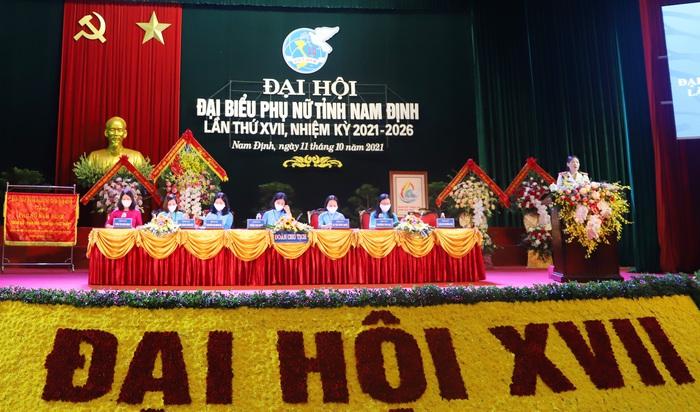 Khai mạc Đại hội Đại biểu Phụ nữ tỉnh Nam Định lần thứ XVII, nhiệm kỳ 2021-2026 - Ảnh 1.