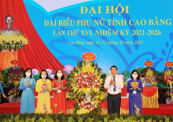 Phụ nữ tỉnh Cao Bằng với 3 nhiệm vụ trọng tâm nhiệm kỳ 2021 – 2026 - Ảnh 1.