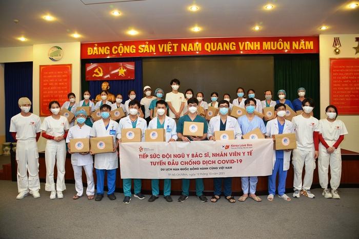 Du lịch Hàn Quốc đồng hành cùng Việt Nam tiếp sức cho tuyến đầu chống dịch - Ảnh 3.