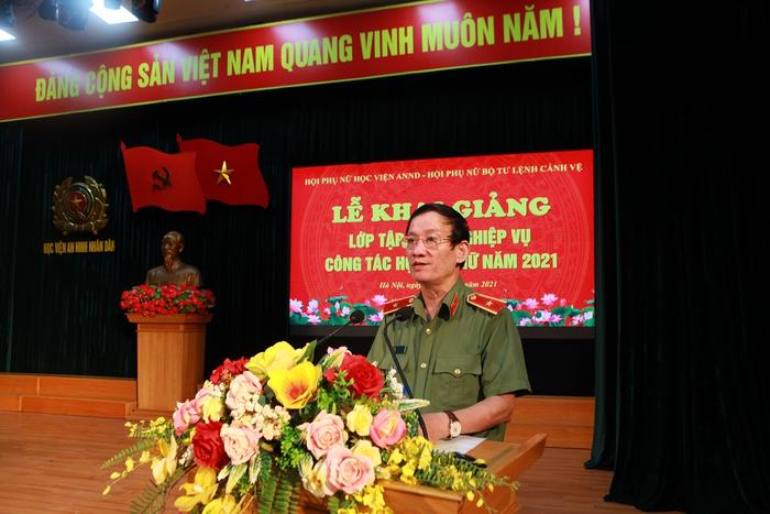 Phụ nữ Học viện An ninh nhân dân và Bộ Tư lệnh cảnh vệ tập huấn nghiệp vụ công tác Hội năm 2021 - Ảnh 1.