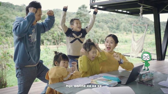 Lý Hải lấy chuyện học online của các con làm MV - Ảnh 2.
