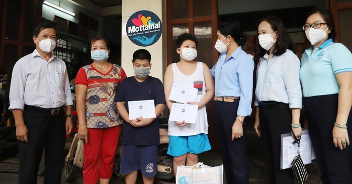 Chương trình Mottainai hỗ trợ 75 trẻ mồ côi do Covid-19 tại TPHCM và Long An - Ảnh 2.