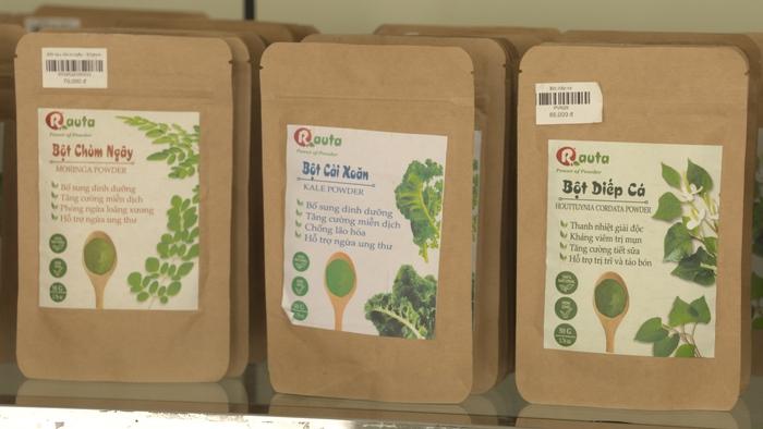 Biến rau sạch thành bột siêu mịn nâng tầm nông sản - Ảnh 2.