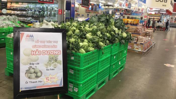 """Chuỗi siêu thị Mega Market """"giải cứu"""" nông sản Hải Dương không lợi nhuận - Ảnh 1."""