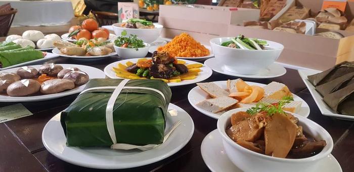 """Thực phẩm chay """"made in Vietnam"""" nhộn nhịp dịp Rằm tháng Giêng  - Ảnh 2."""