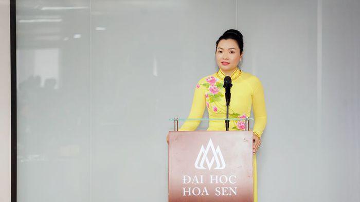 Nữ tiến sĩ 37 tuổi được bổ nhiệm Quyền Hiệu trưởng Trường Đại học Hoa Sen - Ảnh 1.