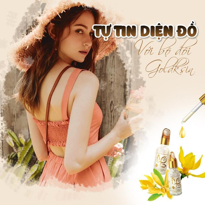 Goldskin - Serum hỗ trợ điều trị mụn tuổi dậy thì - Ảnh 1.