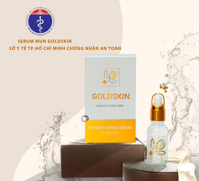 Goldskin - Serum hỗ trợ điều trị mụn tuổi dậy thì - Ảnh 2.