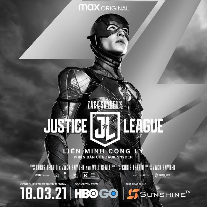 """""""Zack Snyder's Justice League"""", công chiếu trên Sunshine TV trở thành phim bom tấn đáng xem nhất ở Việt Nam? - Ảnh 3."""
