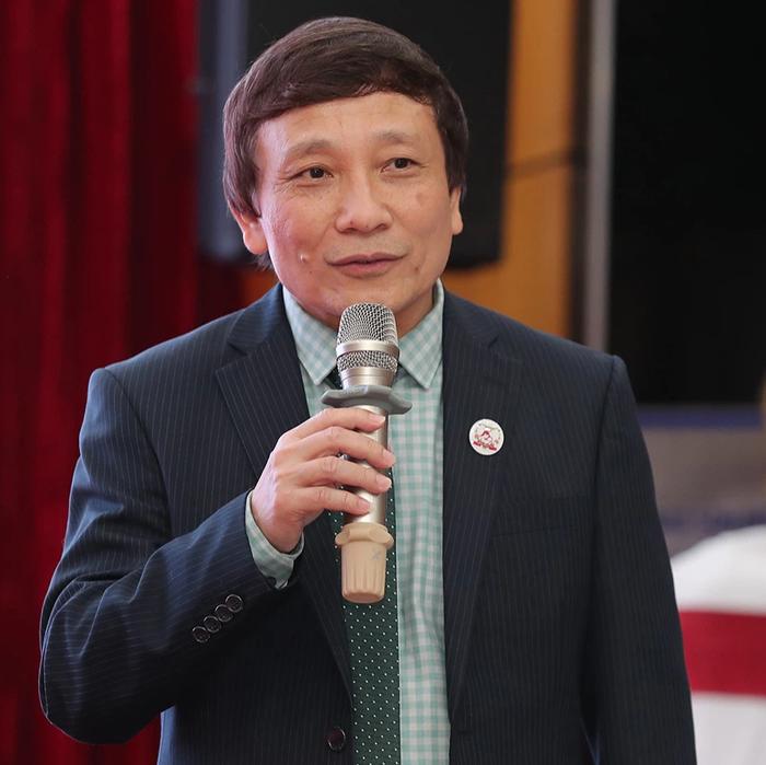 Ông Nguyễn Đức Liên - đại diện BTC Đại nhạc hội Thế giới hát về Mẹ
